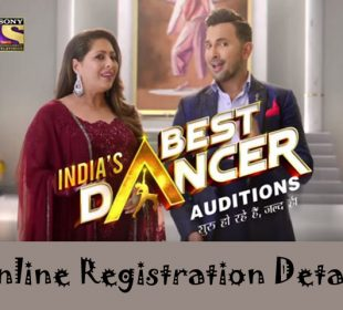 India's Best Dancer Online Registration 2020
