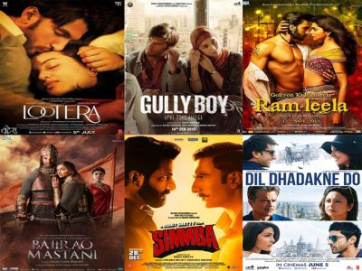 Top 10 Movies of Ranveer Singh