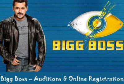 Bigg Boss Auditions 2021