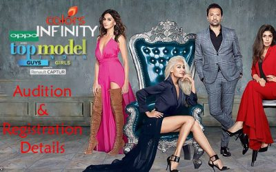 Top Model India Auditions 2021